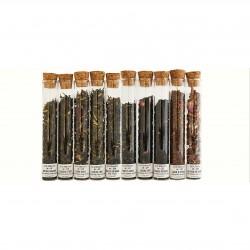 Coffret dégustation 10 tubes de thé
